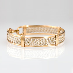GBraided Bracelet - Gold & Silver