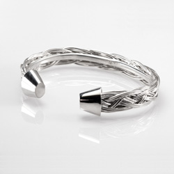 Square Braid Cuff Bracelet